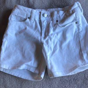 Joe's Girls White Jean Shorts (size 10)